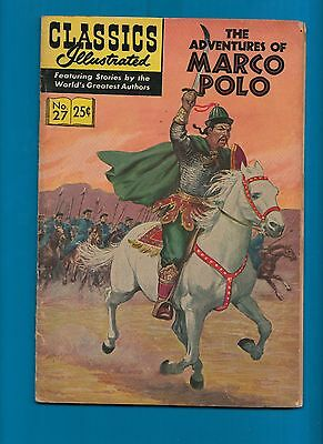 Classics Illustrated Comic Book 1969 Adventures of Marco Polo # 27   #716