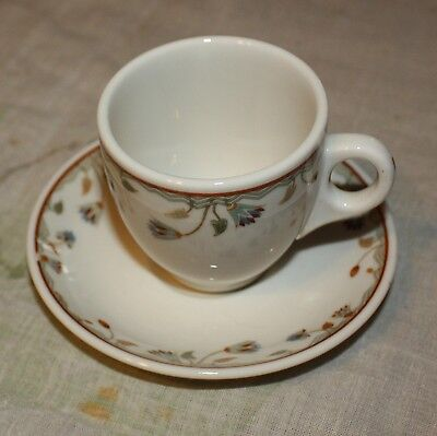 Miniature  Restaurant Ware / Syracuse china cup and saucer
