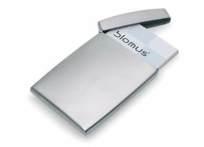 Blomus Stainless Steel Business Card Holder Silver Credit Card ID Pocket Storage
