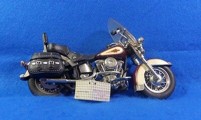 Franklin Mint 1:10 Harley Davidson Heritage Softail Classic Die Cast Motorcycle