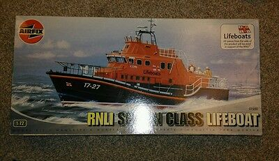 AIRFIX 1:72nd SCALE RNLI SEVERN CLASS BRITISH LIFEBOAT # 07280 NEW IN BOX