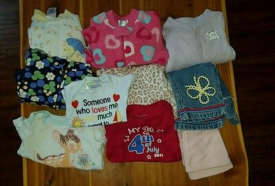 Baby Girl Clothes 3-6 months/6 months (Lot of 10)