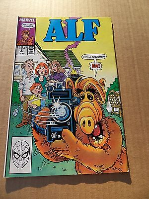 Alf (TV) 2 .   Marvel 1988 -   FN / VF
