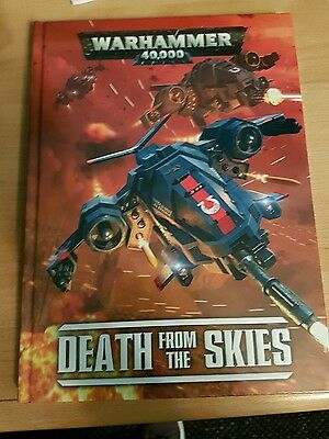 Death from the skies, warhammer 40k supplement, new and sealed