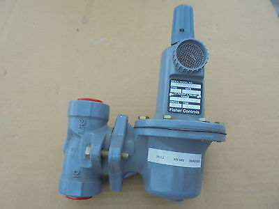 Fisher Controls Type 627 Regulator Range 70-150 Psig - New