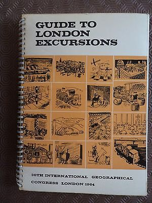 London 1964 International Geographical Congress Inc essay Ordnance Survey + maps