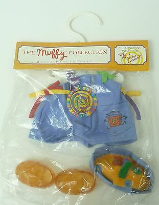 The Muffy Collection Clubhouse Secret Password Overall Outfit VanderBear NIP '94