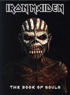 "Cd - Iron Maiden - ""the Book Of Souls"" -  Deluxe Edition"