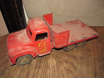 Buddy  L vintage cattle transport truck