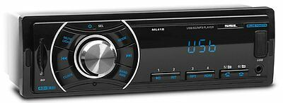 New Car Radio Bluetooth Receiver Single-DIN In Dash Audio Wireless Remote 40-W