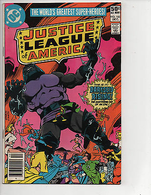Justice League of America #185 (12/80) FN (6.0) Apokolips! Cool Bronze Age!