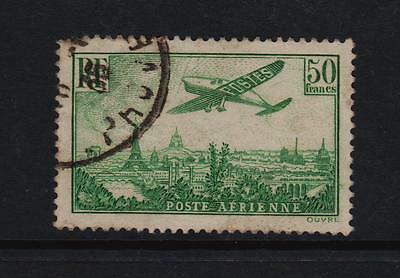 France 1936, F/Used 50fr Air Stamp.