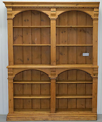 Stunning Salvaged And Restored Large Victorian Oak Bar Bookcase Stunning Find
