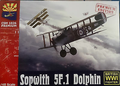 1:48 Copper State Models #K1026Premium  Sopwith 5F.1 Dolphin plastic kit w/PEP