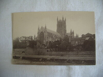 Postcard Worcester Cathedral, Published London Stereoscopic, Unposted