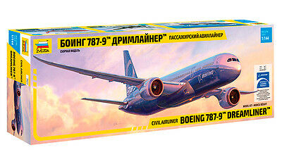 "1:144 ZVEZDA #7021 - Civil Airliner Boeing 787-9 ""Dreamliner"" - Neuheit !"