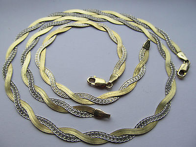 Necklace and bracelet set stamped 925 Italy