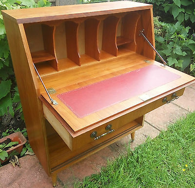 Turnidge 1959 Writing Bureau with pull out draw and pull down writing table