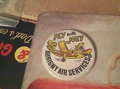 Vintage pin badge  Channel Islands Aurigny air services