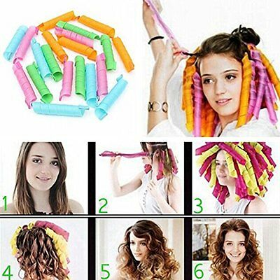Magicurl Hair Curl Convenient DIY Styling Circle Roller Perm Tool Set 20pc Style