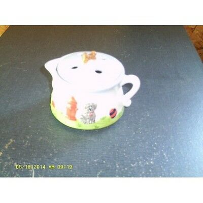 Ceramic Dog Days Potpourri Pot by Waxcessories - CLEARANCE