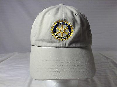 Rotary international ball cap one size fits 2008 2009  Roswell rotary