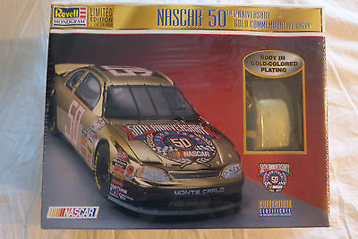 Revell NASCAR 50TH ANNIVERSARY COMMEMORATIVE CHEVY 1/24  In Factory Sealed Box