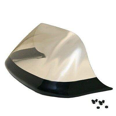 Jet Technologies 29 1/2 Inch Light Smoke Tinted Plexiglass Boat Windshield