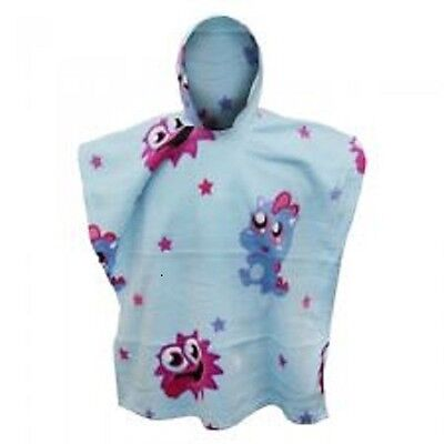 Moshi Monster Sleeved Fleece Poncho - Official Product - UK Stock...