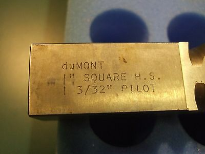 "New Broach 1"" DuMont Square"