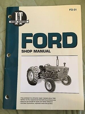 FORD SHOP MANUAL Series 2000-3000-4000