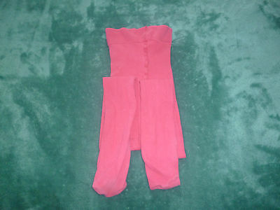 Girls' Pink Tights- Age 8-10 Years