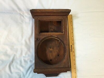 "c1880's OAK Gamewell 6"" EXCELSIOR GONG CASE Fire Alarm Box telegraph police"
