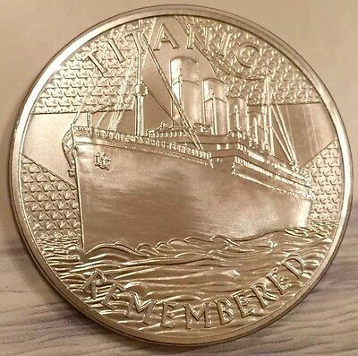 TITANIC REMEMBERED. Royal Mint Commemorative Medal/Coin. Rare Limited Edition.