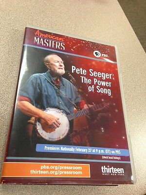 RARE Pete Seeger : The Power Of Song PBS American Masters Promotional DVD