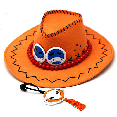 One Piece Anime Portgas D. Ace Cosplay Hat