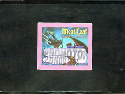 Meatloaf Tour 93-94-95  satin PROMOTER pass Philly 20 Nov 93