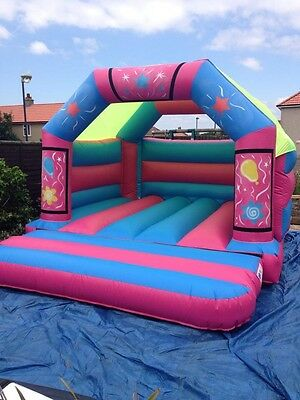 Bouncy Castle 15x12 Pink and Blue