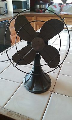 Vintage Metal Fan,The A.C.Gilbert Co.New Haven Conn.WORKS