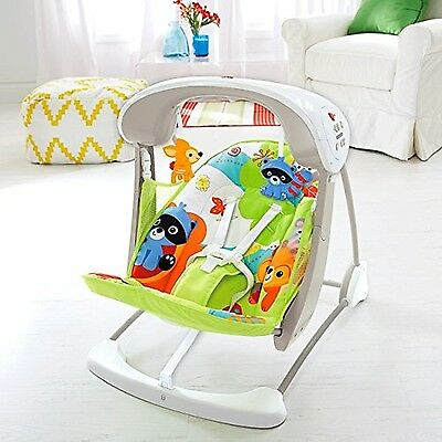 Fisher-Price Woodland Friends Take-Along Swing and Seat