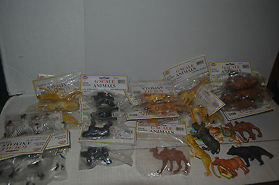 Model power G scale Animals Lot of 33