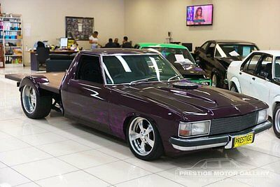 1980 Holden WB V8 Purple Automatic A Utility