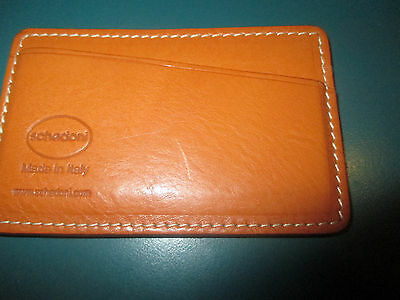 Schedoni Leather Card Holder Case