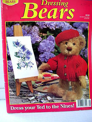 DRESSING BEARS techniques patterns  for clothes tips ideas  10 outfits to make