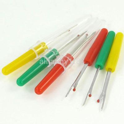 4 Plastic Handle Craft Thread Cutter Seam Ripper Stitch Unpicker Sewing Tool AU