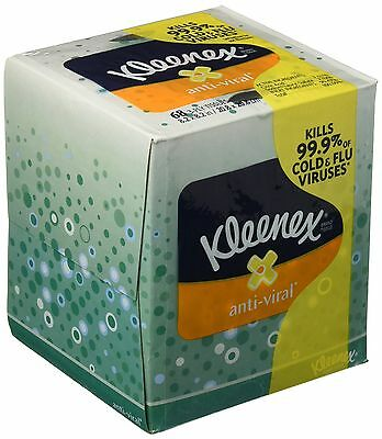 Kimberly-Clark Professional 21286 Kleenex Anti-Viral Facial Tissue Cube Pack ...