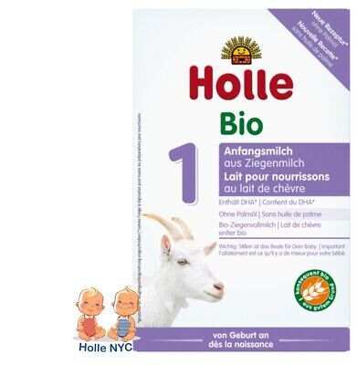 Holle Goat Milk Stage 1 Organic Formula 400g Free Shipping