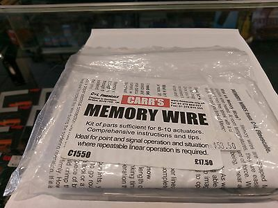 C&L FINESCALE Memory Wire Kit