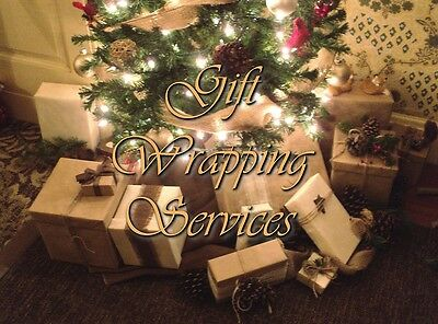 Themed Gift Wrapping Service! Images by Aaron Bordner Alice Sinn One Eyed Doll