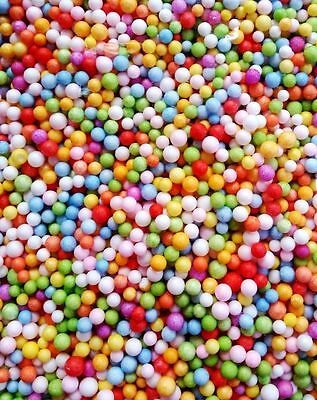 Wholelsale Assorted Colors Polystyrene Styrofoam Filler Foam Beads Balls Crafts